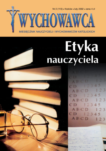Luty 2002 – Etyka nauczyciela
