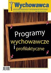 09/2015 Programy wychowawcze i profilaktyczne