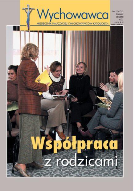 11/2003 Współpraca z rodzicami